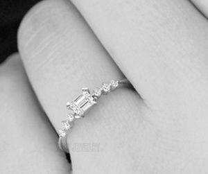Gorgeous Diamond Engagement Ring Size 7